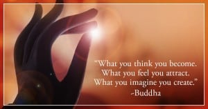 spiritual law of attraction quotes buddha