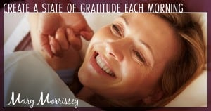 morning gratitude smile