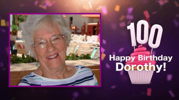 dorothy manin turns 100